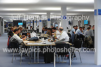 Celtic Manor Resort, Newport, South Wales<br /> <br /> A busy press room at the Wales Nato Summit 2014<br /> <br /> <br /> Photographer: Jeff Thomas - Jeff Thomas Photography - 07837 386244/07837 216676 - www.jaypics.photoshelter.com - swansea1001@hotmail.co.uk