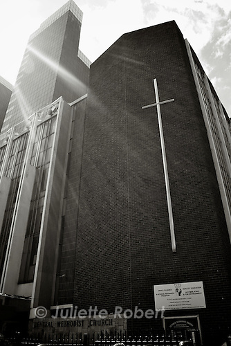 the Central Methodist Church in Johannesburg.