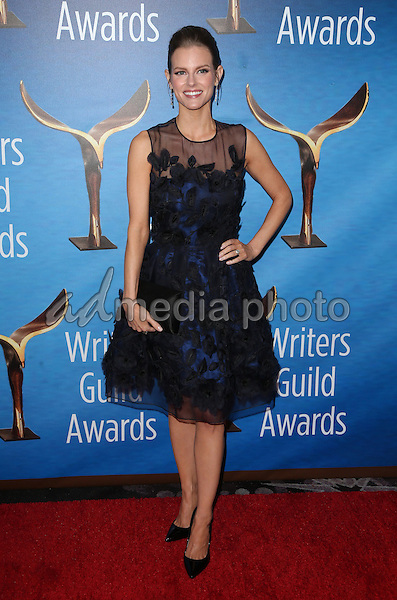 19 February 2017 - Beverly Hills, California - Chelsey Crisp. 2017 Writers Guild Awards L.A. Ceremony held at the Beverly Hilton. Photo Credit: AdMedia