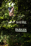 May 9, 2009. Tryon, NC.. In the last weeks of their deployment in Iraq, the 1451st Transportation Company of the NC National Guard lost 2 men to an IED explosion. After returning home, 4 of the surviving soldiers took their own lives.. 1st Sergeant Roger Parker served in Iraq with the 1451st Transportation Company of the NC National Guard when they lost 2 men to a roadside bomb. After returning from Iraq, 1st Sgt. Parker committed suicide, leaving behind a wife and his father and sister.  A US flag flies over the driveway of Lawrence Parker, the father of 1st Sgt. Roger Parker.