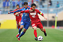 (L to R) Facundo Perez Castro (Shanghai), Mitsuo Ogasawara (Antlers), May 3, 2011 - Football : AFC Champions League 2011, Group H match between Kashima Antlers 2-0 Shanghai Shenhua at National Stadium, Tokyo, Japan. (Photo by Daiju Kitamura/AFLO SPORT) [1045]