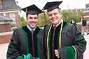 Darryl Whitney, left, John Hoyt. Commencement class of 2013.