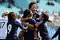 Asuna Tanaka, Japan team group (JPN), MARCH 7, 2012 - Football / Soccer : Asuna Tanaka of Japan celebrates after Tanaka scores a goal with her teammates  during the Algarve Women's Football Cup 2012 final match between Germany 4-3 Japan at Algarve Stadium, Faro, Portugal. (Photo by AFLO) [2268]