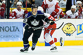 Willie Mitchell (Los Angeles Kings, #33) during ice-hockey match between Los Angeles Kings and Detroit Red Wings in NHL league, February 28, 2011 at Staples Center, Los Angeles, USA. (Photo By Matic Klansek Velej / Sportida.com)