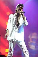 WEST PALM BEACH, FL - JULY 20: Wiz Khalifa performs during opening night of The High Road Tour at The Perfect Vodka Amphitheater on July 20, 2016 in West Palm Beach Florida. Credit: mpi04/MediaPunch