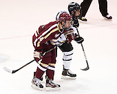 Brooks Dyroff (BC - 14), John Gilmour (PC - 3) - The Providence College Friars tied the visiting Boston College Eagles 3-3 on Friday, December 7, 2012, at Schneider Arena in Providence, Rhode Island.