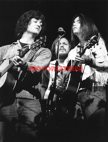 Emmylou Harris 1976 and Rodney Crowell.© Chris Walter.