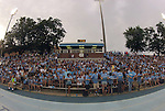 24 August 2012: Over 5,000 people attended the game. The University of North Carolina Tar Heels played the University of Florida Gators to a 0-0 overtime tie at Fetzer Field in Chapel Hill, North Carolina in a 2012 NCAA Division I Women's Soccer game.