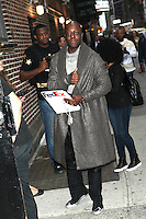 OCT 20 Wyclef Jean At The Late Show With Stephen Colbert