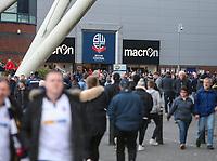 A general view of the Macron Stadium, home of Bolton Wanderers<br /> <br /> Photographer Alex Dodd/CameraSport<br /> <br /> The EFL Sky Bet League One - Bolton Wanderers v Bury - Tuesday 18th April 2017 - Macron Stadium - Bolton<br /> <br /> World Copyright &copy; 2017 CameraSport. All rights reserved. 43 Linden Ave. Countesthorpe. Leicester. England. LE8 5PG - Tel: +44 (0) 116 277 4147 - admin@camerasport.com - www.camerasport.com