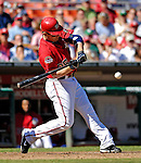 16 September 2007: Washington Nationals outfielder Austin Kearns in action against the Atlanta Braves at Robert F. Kennedy Memorial Stadium in Washington, DC. The Braves shut out the Nationals 3-0 in the third game of their 3-game series...Mandatory Photo Credit: Ed Wolfstein Photo