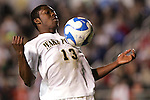 14 December 2007: Wake Forest's Michael Lahoud. The Wake Forest University Demon Deacons defeated the Virginia Tech University Hokies 2-0 at SAS Stadium in Cary, North Carolina in a NCAA Division I Men's College Cup semifinal game.