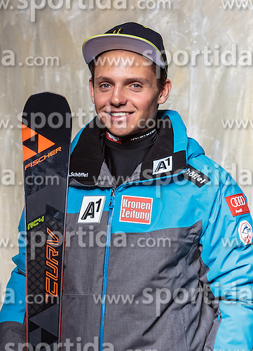 08.10.2016, Olympia Eisstadion, Innsbruck, AUT, OeSV Einkleidung Winterkollektion, Portraits 2016, im Bild Manuel Annewanter, Ski Alpin, Herren // during the Outfitting of the Ski Austria Winter Collection and official Portrait Photoshooting at the Olympia Eisstadion in Innsbruck, Austria on 2016/10/08. EXPA Pictures © 2016, PhotoCredit: EXPA/ JFK