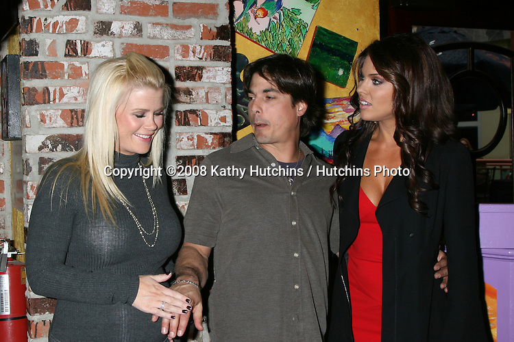"Alison Sweeney, Bryan Datillo, and Nadia Bjorlin  at the ""Day of Days""  Days of our Lives Event at City Walk at Universal Studios in Los Angeles, CA on .November 1, 2008.©2008 Kathy Hutchins / Hutchins Photo...                . ."