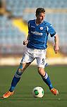 Alashkert FC v St Johnstone...02.07.15   Republican Stadium, Yerevan, Armenia....UEFA Europa League Qualifier.<br /> Steven MacLean<br /> Picture by Graeme Hart.<br /> Copyright Perthshire Picture Agency<br /> Tel: 01738 623350  Mobile: 07990 594431