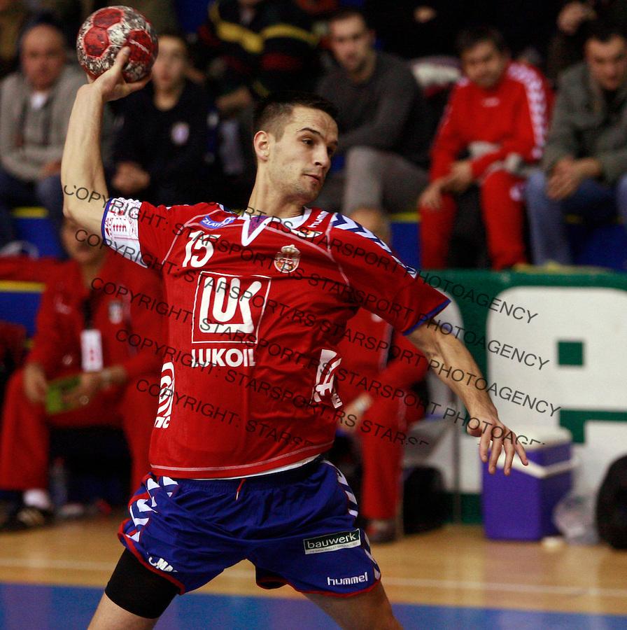 Markovic Dobrivoje Sport Rukomet Handball Serbia National Team Reprezentacija Egipat Friendly Prijateljska 16.1.2010. photo: Pedja Milosavljevic / +381641260959 thepedja@gmail.com