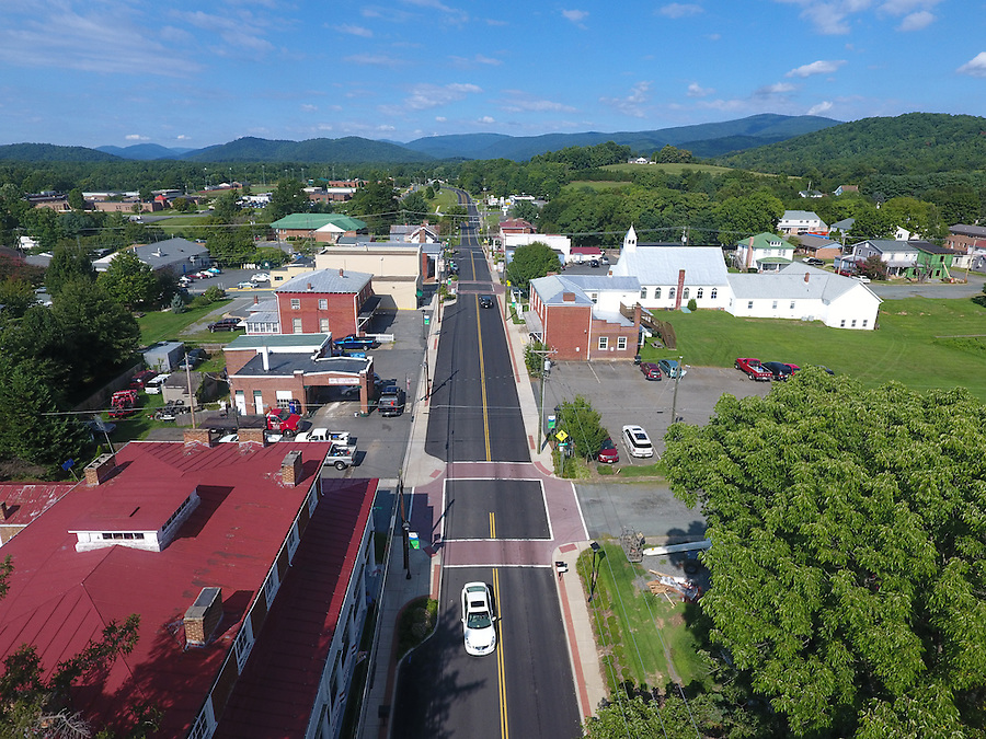 Main Street USA in Greene County, Virginia. Photo/Andrew Shurtleff