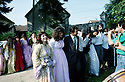 France 1990.Kurdish wedding in Mainsat.France 1990.Mariage kurde a Mainsat