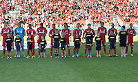 August 10, 2013: Toronto FC during the opening ceremonies  in an MLS regular season game between the Seattle Sounders and Toronto FC at BMO Field in Toronto, Ontario Canada.<br /> Seattle Sounders FC won 2-1.