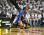 "Ole Miss vs. Kentucky's Ryan Harrow (12) at the C.M. ""Tad"" Smith Coliseum on Tuesday, January 29, 2013. Kentucky won 87-74. (AP Photo/Oxford Eagle, Bruce Newman).."