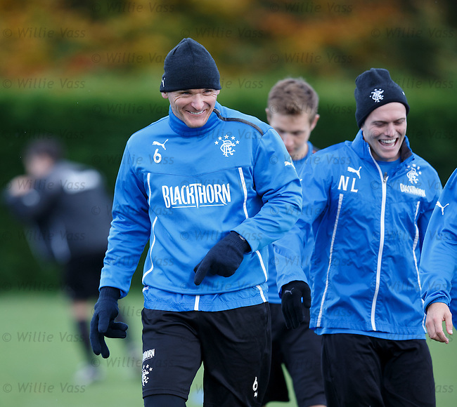 Lee McCulloch and Nicky Law