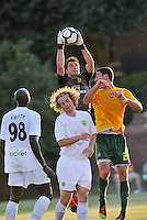 Steve Cronin-Portland Timbers (goalkeeper)..AC St Louis defeated Portland Timbers 3-0 at Anheuser-Busch Soccer Park, Fenton, Mssouri.
