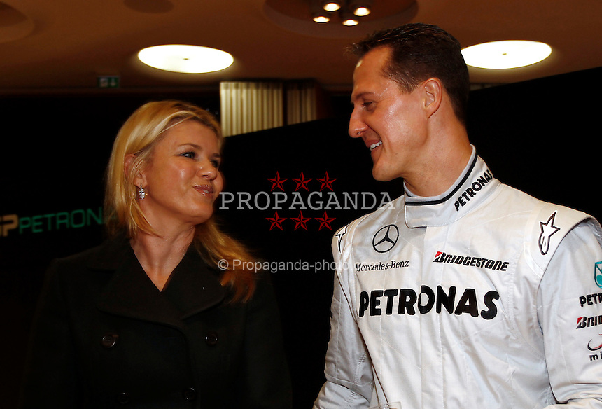 Formula One Team presentation at the Mercedes-Benz Museum. (Pic by