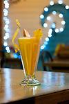 Mango Tropical Drink, Star Fruit, Cahuita, Costa Rica