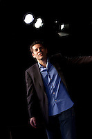 Comedian Dean Obeidallah performs in the 6th Annual NY Arab-American Comedy Festival in New York, USA, 10 May 2009.