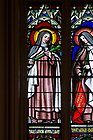 April 22, 2017; Blessed Marianna Fontanella, known as Blessed Mary of the Angels, depicted in a stained glass window in the Basilica of the Sacred Heart at the University of Notre Dame. (Photo by Matt Cashore/University of Notre Dame)