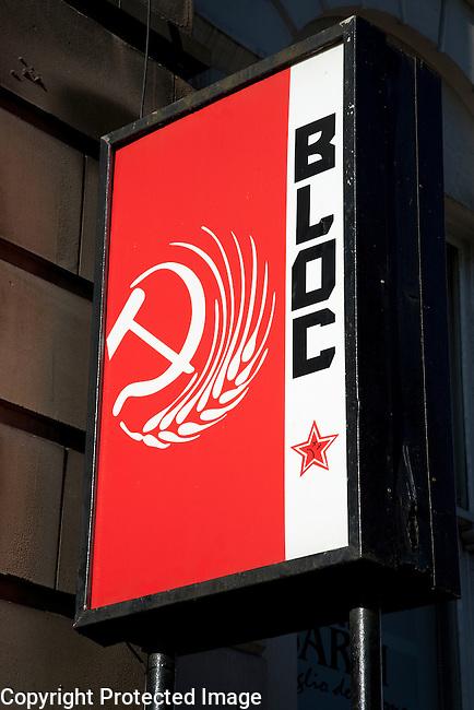 Bloc Bar in Glasgow, Scotland