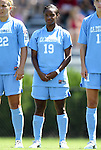 11 September 2011: North Carolina's Crystal Dunn. The Texas A&M Aggies defeated the University of North Carolina Tar Heels 4-3 in overtime at Koskinen Stadium in Durham, North Carolina in an NCAA Division I Women's Soccer game.