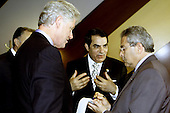 United States President Bill Clinton meets with President Ben Ali of Tunisia at the United Nations in New York, New York on September 7, 2000..Mandatory Credit: Sharon Farmer / White House via CNP