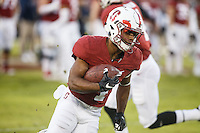 Stanford, CA - November 26, 2016: Frank Buncom during warm-ups before the Stanford vs Rice game Saturday at Stanford Stadium.<br /> <br /> Stanford won 41- 17.