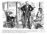 "[The headmaster of Rugby is reported to have said at the recent conference on school diet that ""while adults should rise from the table hungry, children should reach a sense of repletion before rising.""] House master (with pride to parent). ""Then with regard to food: We feed our boys to repletion five time a day and our chef's puddings have no equal in any school in the kingdom."""