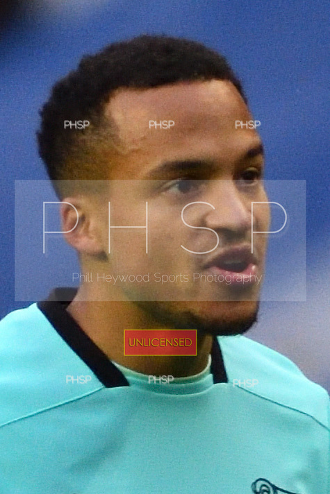 03/12/2016 Sky Bet Championship Wigan Athletic v <br /> Derby County<br /> <br /> Marcus Olsson booked