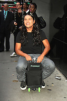 NEW YORK, NY-August 01`: Adam Beach at Good Morning America to talk about new movie Warner Bros. & DC Suicide Squad in New York. NY August 01, 2016. Credit: RW/MediaPunch