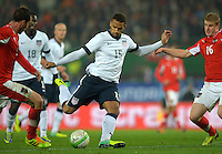 VIENNA, Austria - November 19, 2013: Terrence Boyd during the international friendly match between Austria and the USA at Ernst-Happel-Stadium.