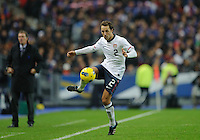 Steve Cherundolo of team USA chases the ball during the friendly match France against USA at the Stade de France in Paris, France on November 11th, 2011.