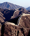 BB01688-06...CHINA - The Great Wall of China near Badaling.