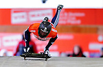 17 December 2010: Kristan Bromley sliding for Great Britain, finishes in 3rd place at the Viessmann FIBT Skeleton World Cup Championships in Lake Placid, New York, USA. Mandatory Credit: Ed Wolfstein Photo
