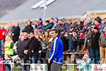 Maurice Fitzgerald St Mary's Manager watches on as Skellig Rangers attack.