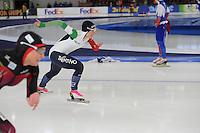 SCHAATSEN: BERLIJN: Sportforum Berlin, 05-03-2016, WK Allround, 500m Ladies, Francesca Lollobrigida (ITA), ©foto Martin de Jong