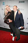 World Bronze Medalist Nicole Bobek and Former Figure Skater and long-time Skating Television Analyst Dick Button Attend 2013 Skating with the Stars honoring B Michael and Andrea Joyce -A benefit gala for Figure Skating in Harlem Held At Trump Rink, Central Park, NY