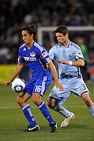 Josh Wolf #16, Drew Moor...Kansas City Wizards defeated Colorado Rapids 1-0 at Community America Ballpark, Kansas City,Kansas.