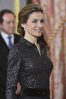 Spanish Royals Receive Diplomatic Corps in Madrid