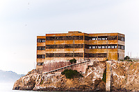 United States, California, San Francisco. The famous Alcatraz prison island.
