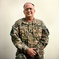 American Army general Richard Formica, in charge of training 25,000 Afghan National Army soldiers.
