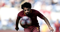 Calcio, Serie A: Roma, stadio Olimpico, 14 aprile 2017.<br /> Roma's Mohamed Salah in action during the Italian Serie A football match between Roma and Atalanta at Rome's Olympic stadium, April 14, 2017.<br /> UPDATE IMAGES PRESS/Isabella Bonotto
