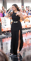 AUG 27 Jordin Sparks Performs on NBC's Today Show Toyota Concert Series